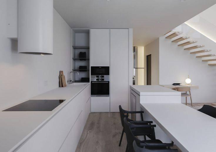 Кухня в стиле минимализм с нуля