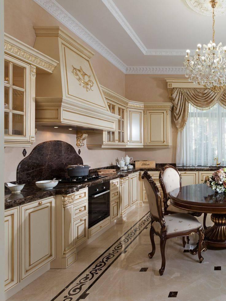 Кухня в классическом стиле: 140 фото основных идей и вариантов модификации классики