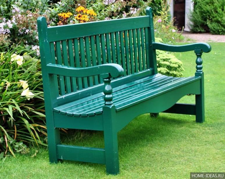 Садовая скамейка: 150 фото примеров постройки и размещения красивых садовых скамеек