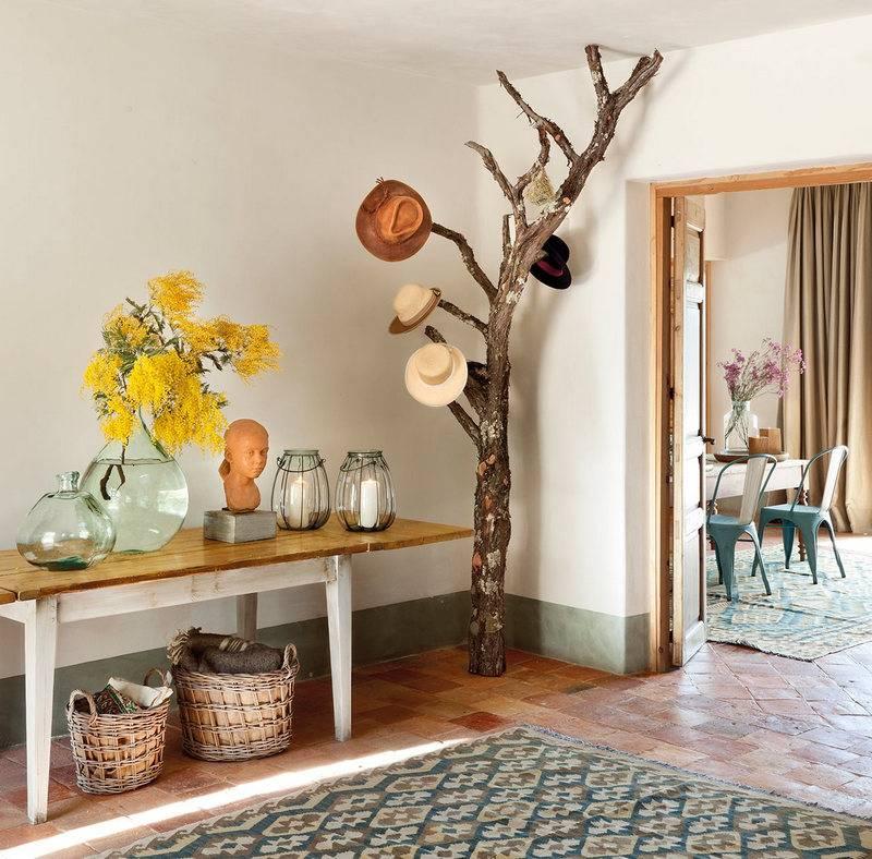 Декоративное дерево в интерьере - 75 фото вариантов дизайна