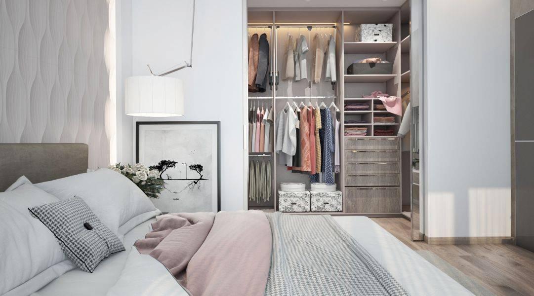 Шкаф-гардеробная в спальню: 135 фото идей практичного дизайна и размещения в интерьере спальни гардероба