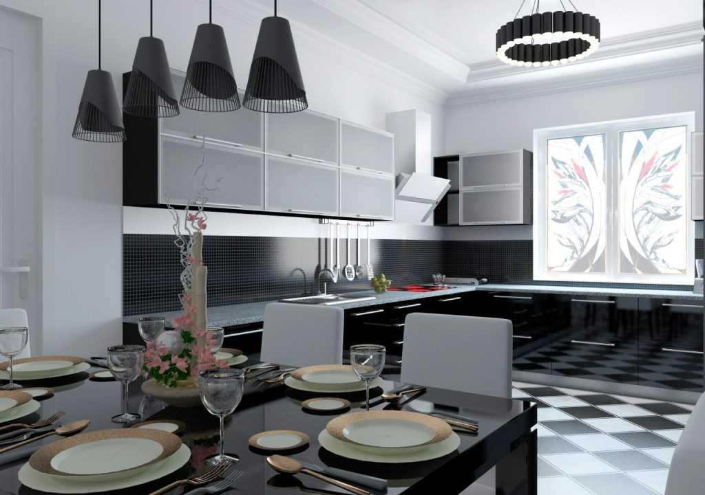 Кухня в стиле хай тек: варианты оформления интерьера (50 фото) | современные и модные кухни
