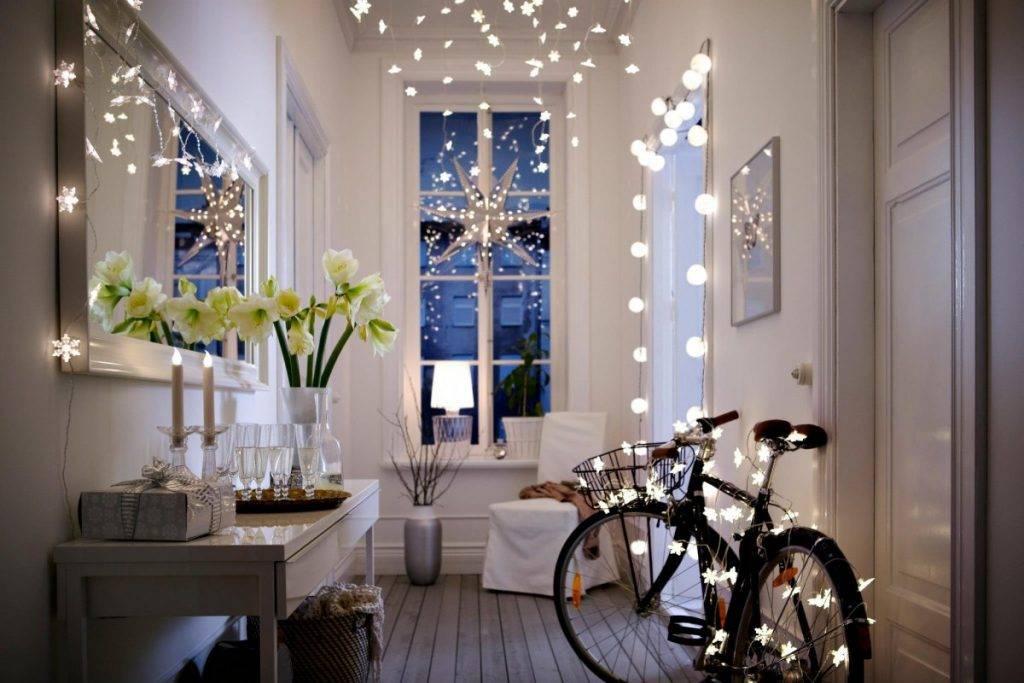 100 + идей как украсить комнату на новый год 2021 своими руками