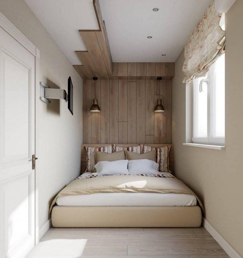 Спальня 8 кв. м. - топ-200 идей планировок, фото примеры красивого дизайна в маленькой спальной комнате