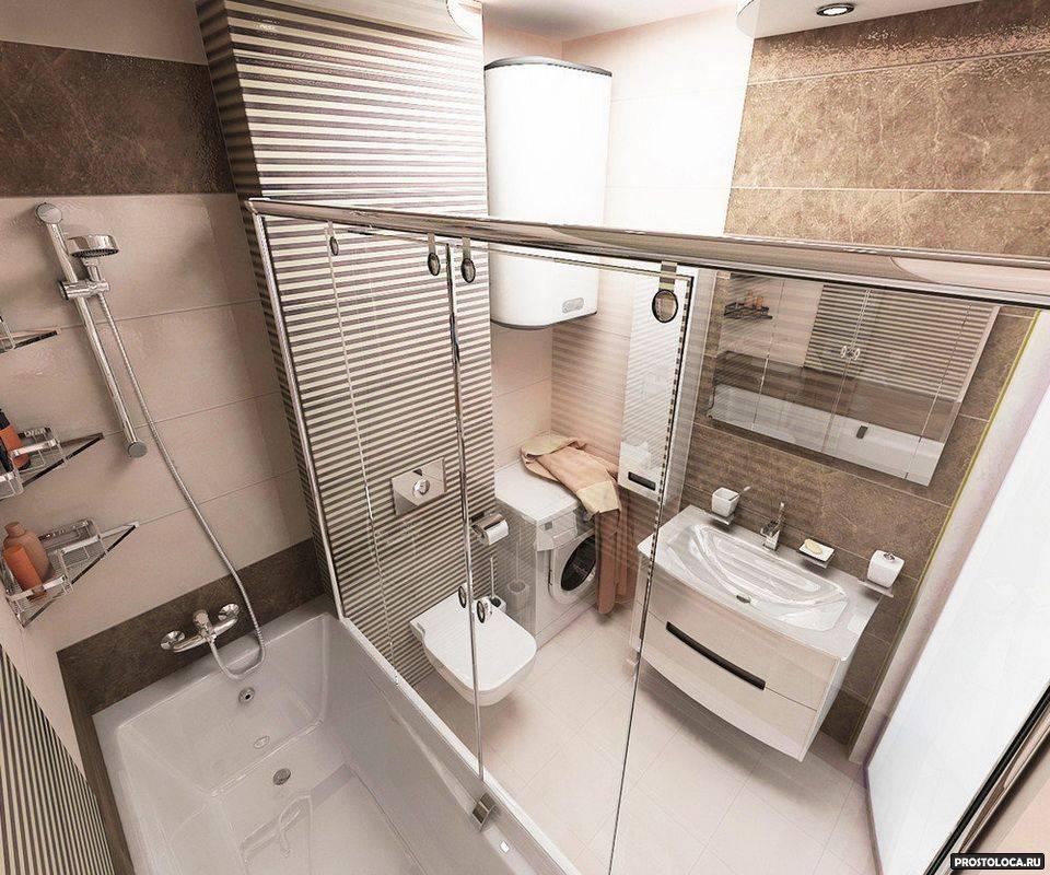 Дизайн ванной комнаты 3 кв. м.: особенности и маленькие хитрости