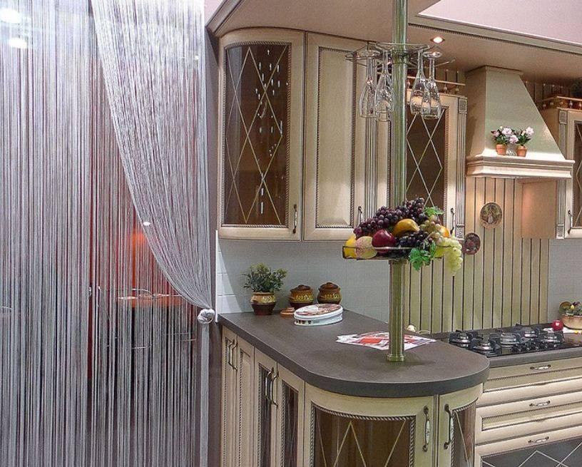 Шторы для маленькой кухни: реальные фото примеры