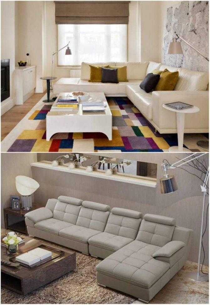 Советы и рекомендации по размещению двух диванов в интерьере гостиной