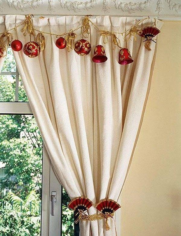 Декор штор: 118 фото идей и вариантов украшений своими руками