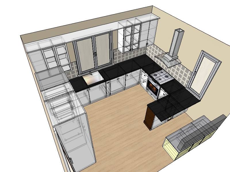 Идеи дизайна интерьера большой кухни