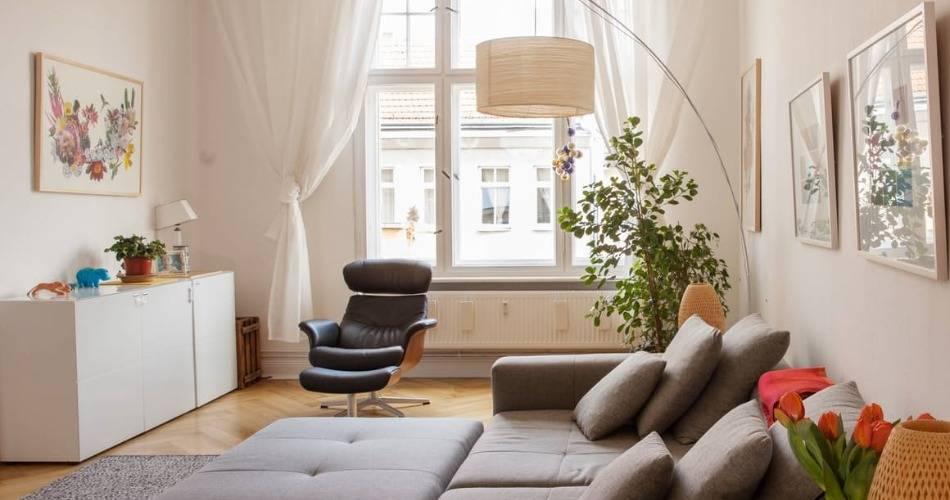 Высокий потолок в комнате, идеи дизайна - 30 фото интерьеров