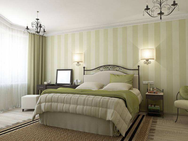 Бра над кроватью в спальне, светильники над кроватью, на какой высоте вешать бра