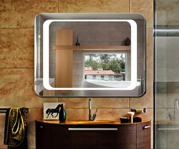 Выбор зеркала в ванную комнату: виды, формы, декор, цвет, варианты с рисунком, подсветкой