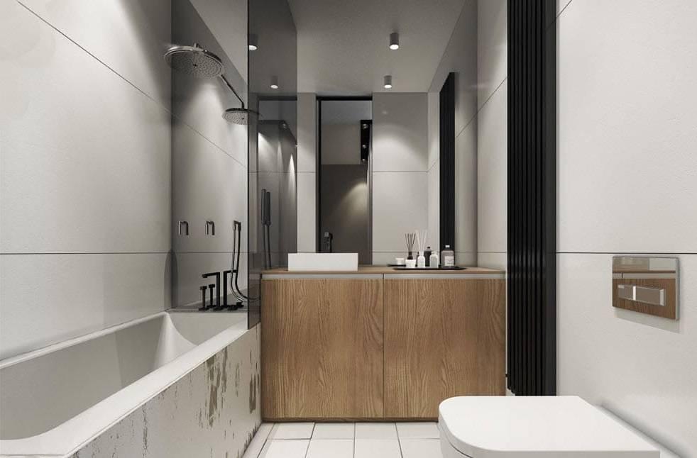 90+ идей дизайна маленькой ванной комнаты с фото