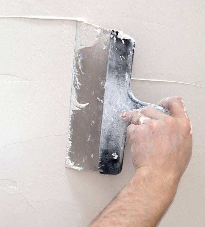 Правильная шпаклёвка стен под обои: подробная инструкция для новичка по идеальному выравниванию   видео