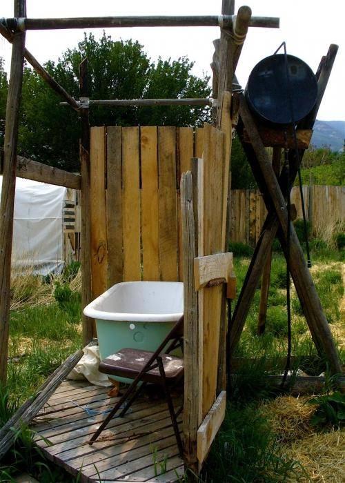 Летний душ для дачи своими руками: пошаговая инструкция по изготовлению