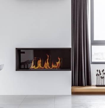 Камин в интерьере квартиры: лучшие варианты дизайна, модные идеи + фото в современном стиле