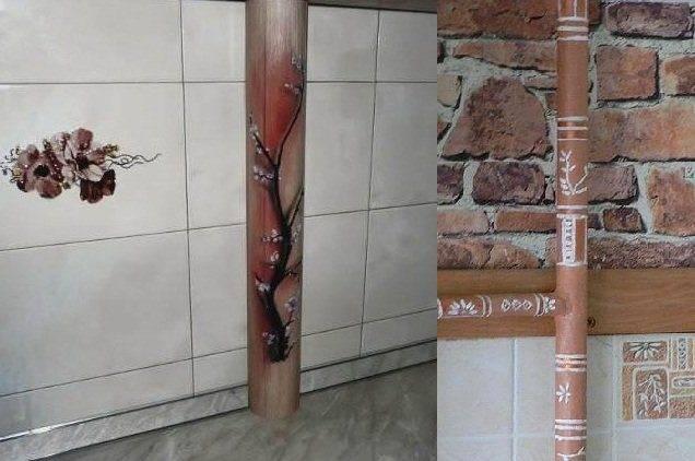Газовая труба на кухне: как спрятать надежно, стильно и законно