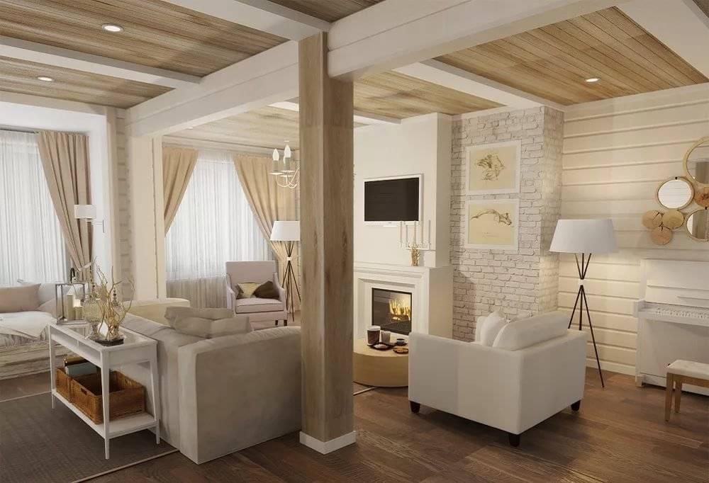 Шторы в деревянном доме: выбираем лучший дизайн, 80 фото в интерьере