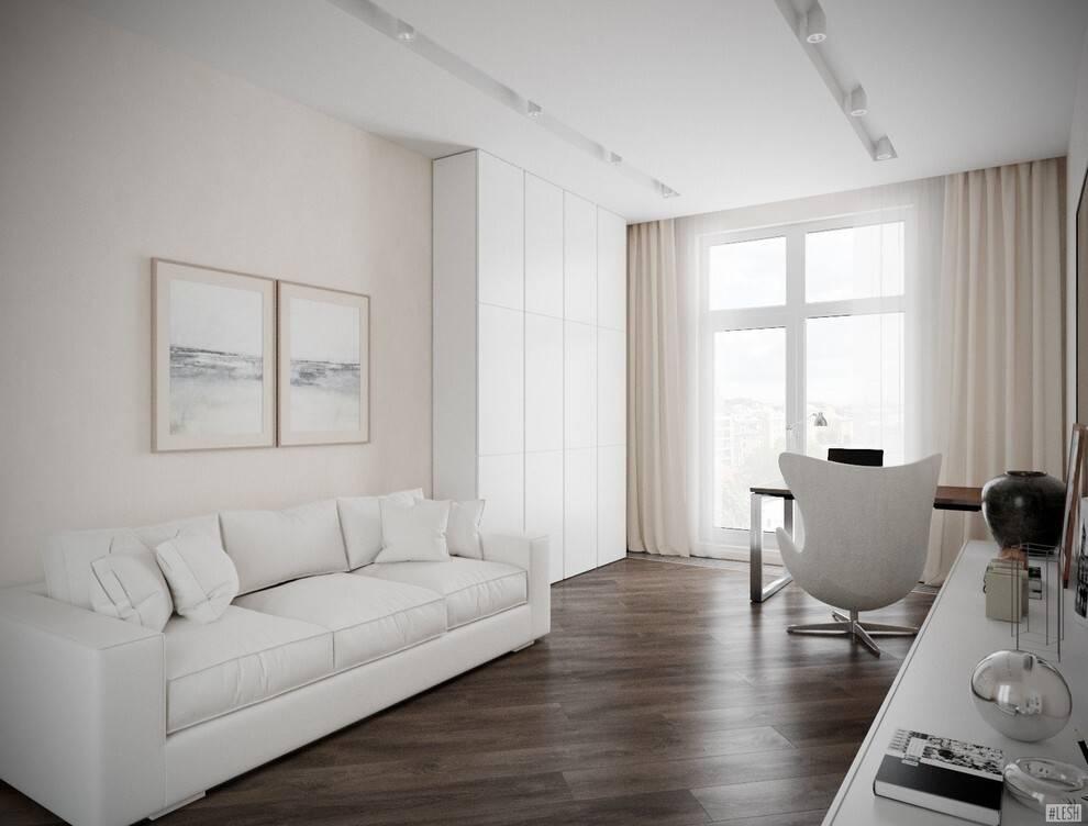 Гостиная в стиле минимализм: идеи дизайна, 100 фото интерьеров