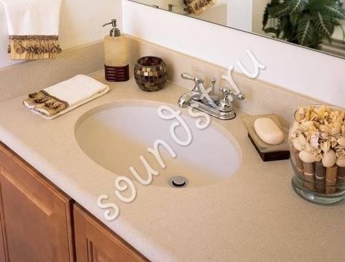 Столешница в ванную комнату — лучшие идеи и новые решения от ведущих производителей (110 фото)