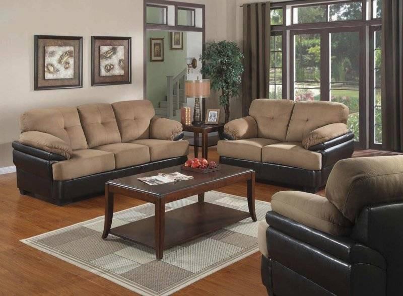 Коричневая мебель: элегантные сочетаний с серым и белым (110 фото)