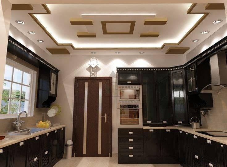 Потолок из гипсокартона на кухне (43 фото): варианты красивого дизайна подвесных фигурных двухуровневых или многоуровневых потолков