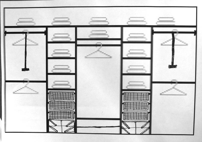 Особенности наполнения шкафов-купе в прихожую, варианты зонирования