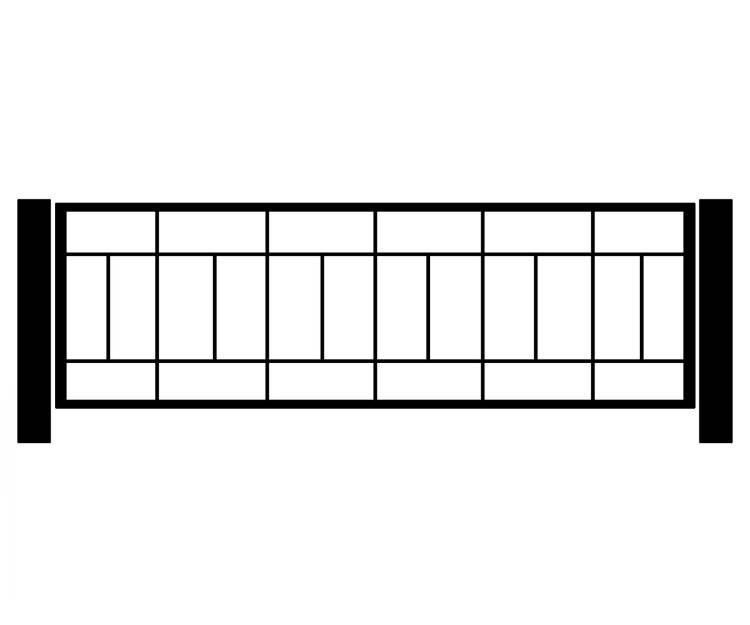 Сварные заборы (70 фото): секционные варианты из профильной трубы