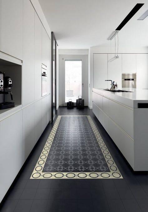Все о керамической плитке для пола на кухне