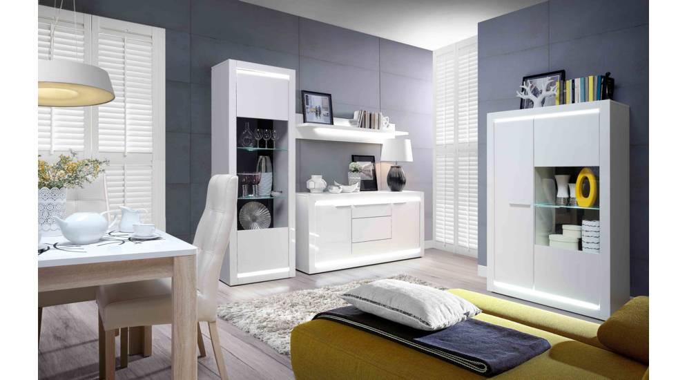 Белая гостиная – модная тенденция