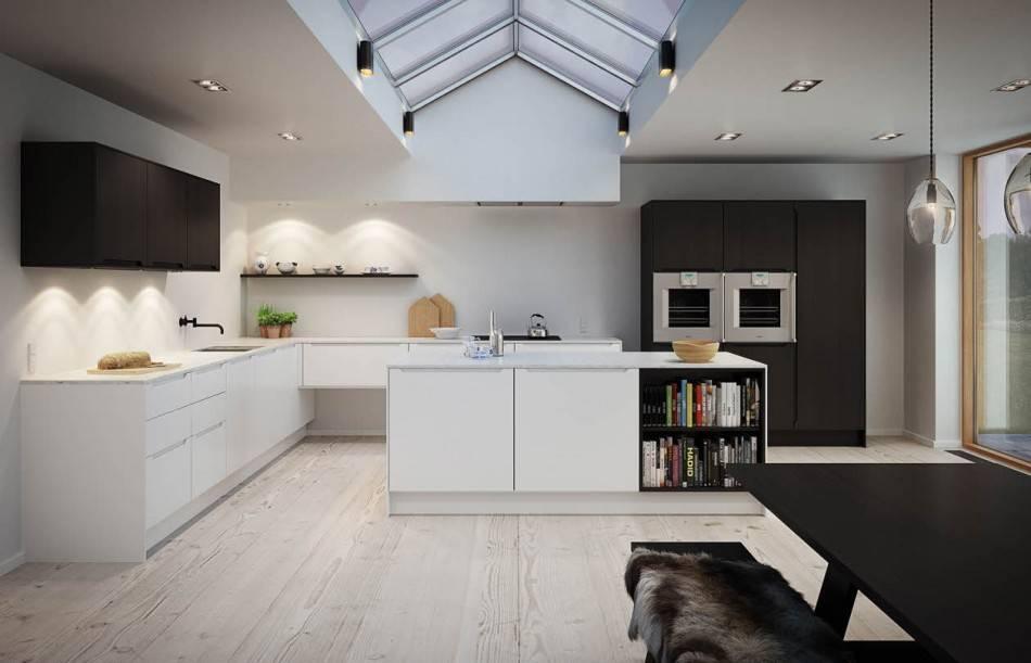 Кухня в стиле минимализм: 99 самых удачных интерьеров