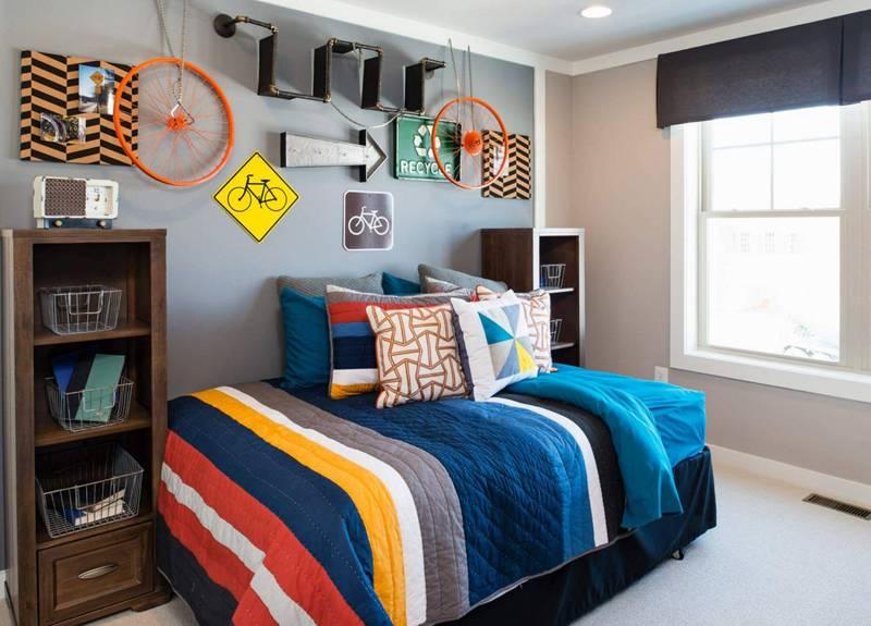 Дизайн спальни для мальчиков — более 20 фото интерьера