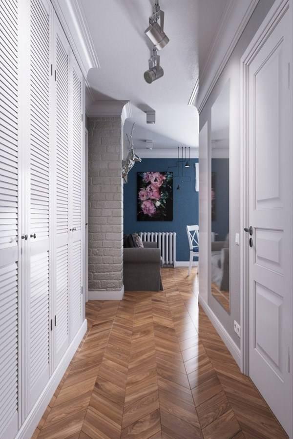 Обои в прихожую: 70 фото и советы как подобрать цвет и узор   обои в интерьере прихожей и коридора