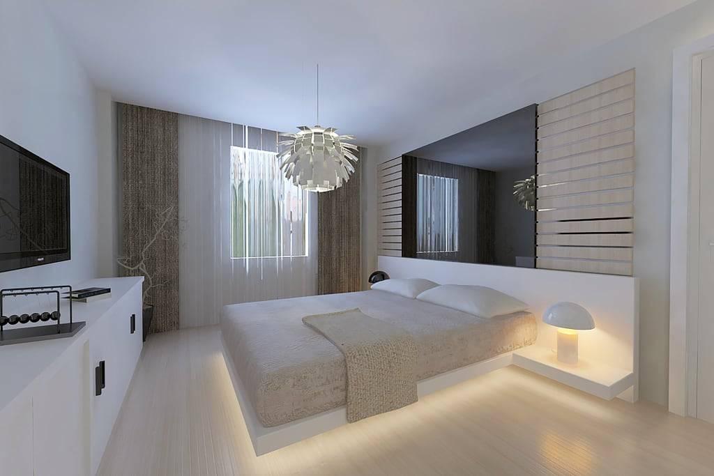 Дизайн спальни в современном стиле. модные спальни в 2021 году