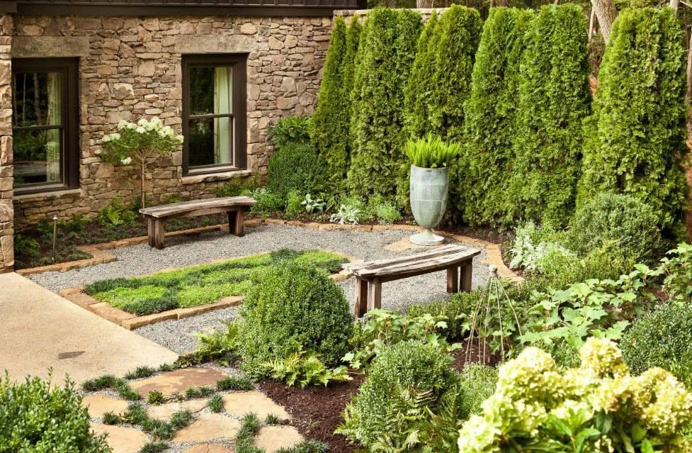 Благоустройство садового участка своими руками - интересные идеи дизайна (140 фото)