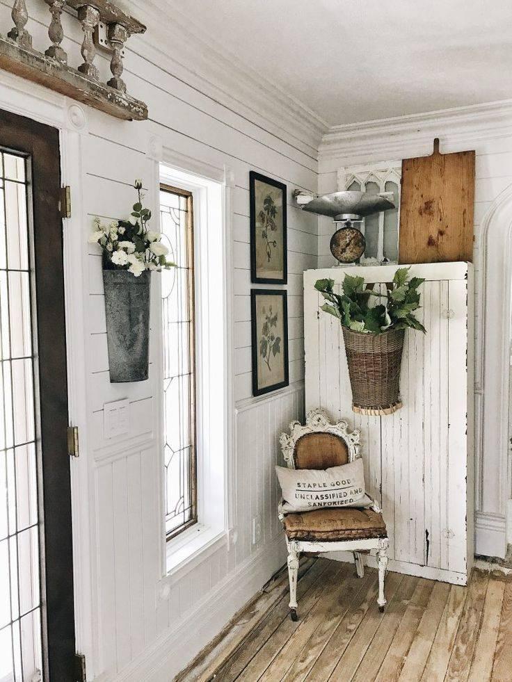 Советы по оформлению прихожей комнаты в кантри стилистике