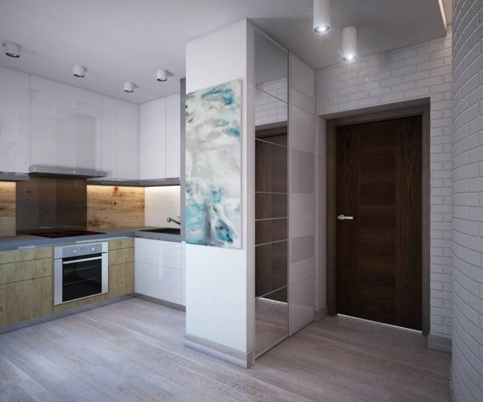 Кухня прихожая (39 фото) в интерьере маленькой квартиры