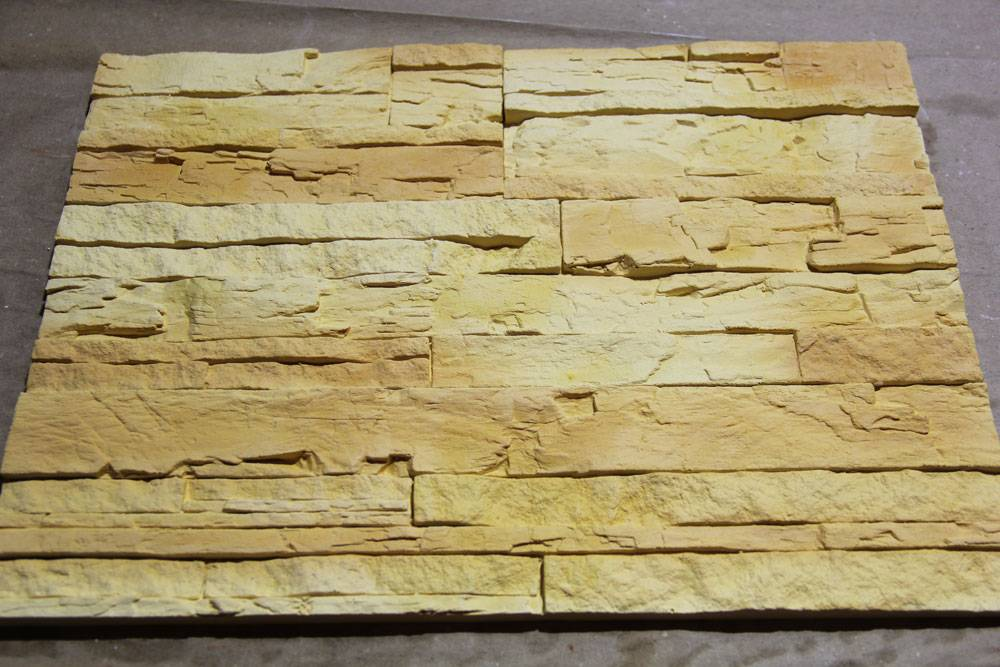 Окраска декоративного камня из гипса: подготовка к работе, технология нанесения