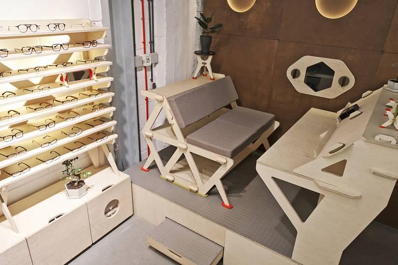 Мебель из фанеры (50 фото): производство сборной и другой фанерной мебели, дизайнерская из ламинированной и необычная мебель из гнутой фанеры