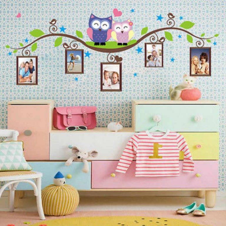 Как правильно подобрать декор для детской комнаты
