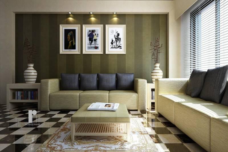 Голубая гостиная — гармоничные сочетания нежных голубых оттенков с обоями, шторами и мебелью (117 фото)