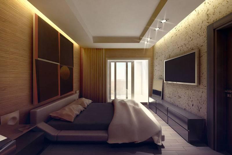 Спальня в хрущевке - 140 фото красивого и уютного дизайна маленькой спальни