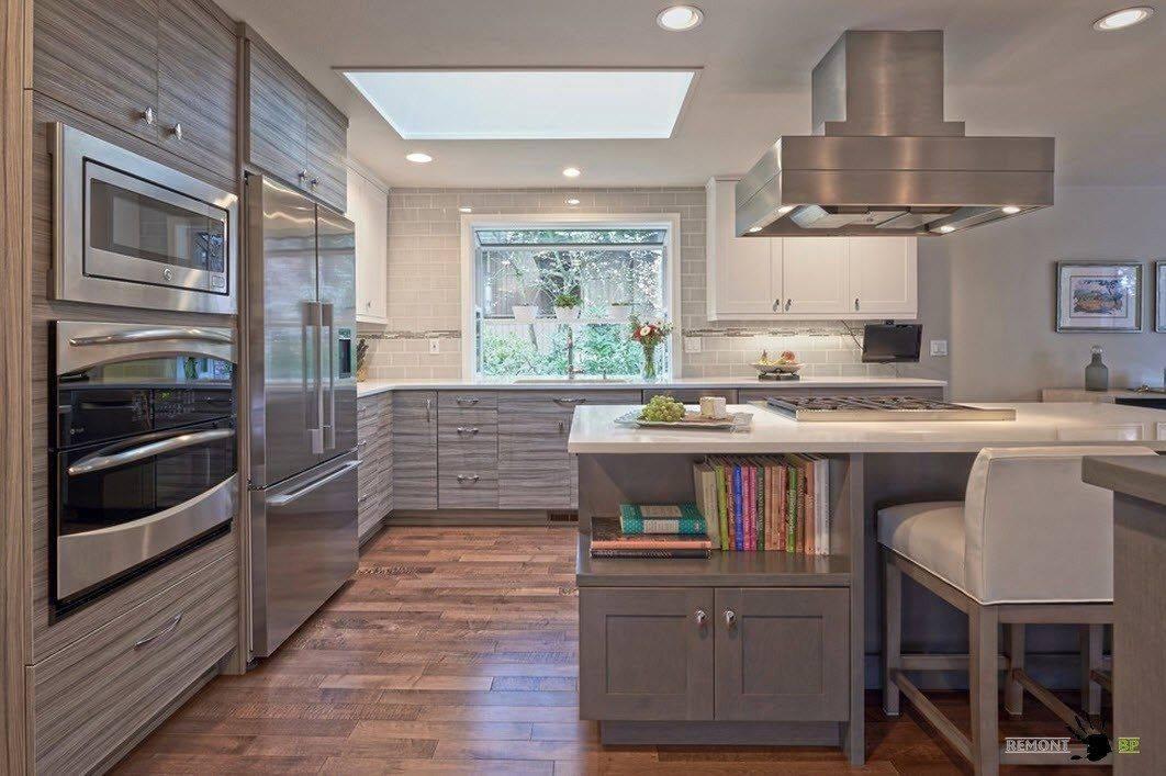 Кухня в квартире студии: лучшие идеи дизайна и расстановки мебели (55 фото)