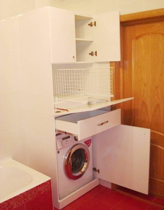 5 вариантов размещения стиральной машины в ванной