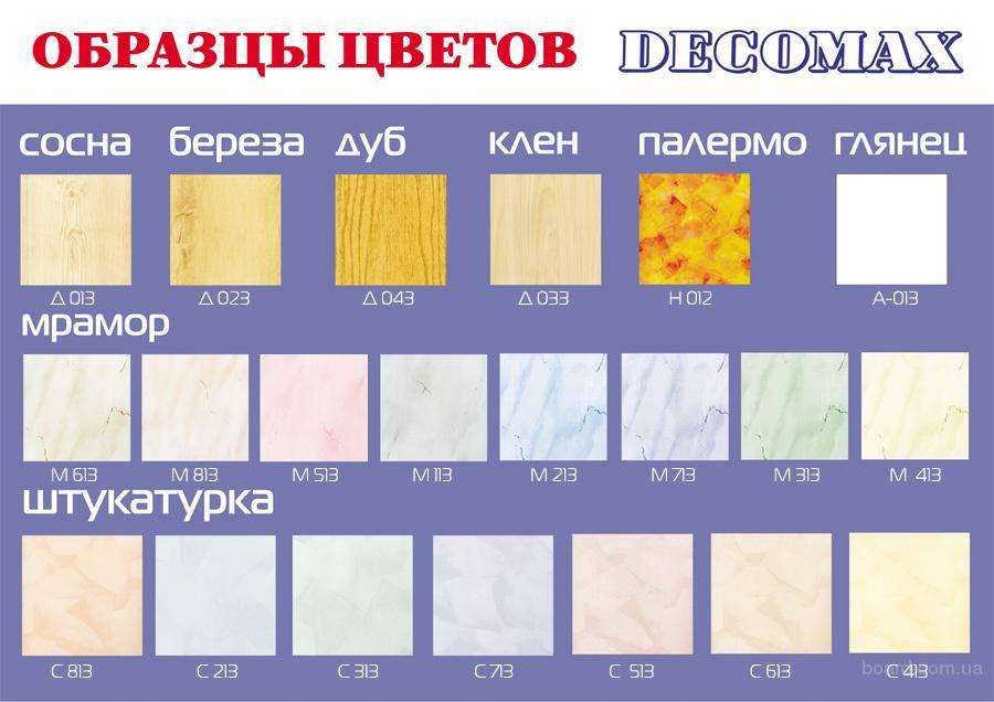 Пвх панели: обзор отделочного материала