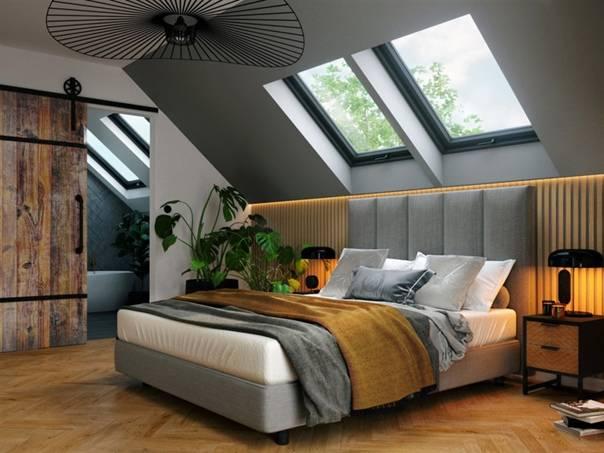 Дизайн мансардного этажа: особенности помещений, выбор окон, предметов интерьера и отделки, варианты интерьера + (фото)