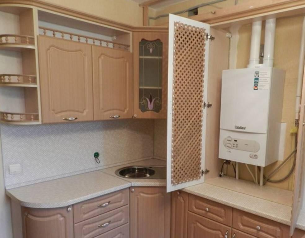 Кухни с котлом индивидуального отопления: фото дизайна интерьера