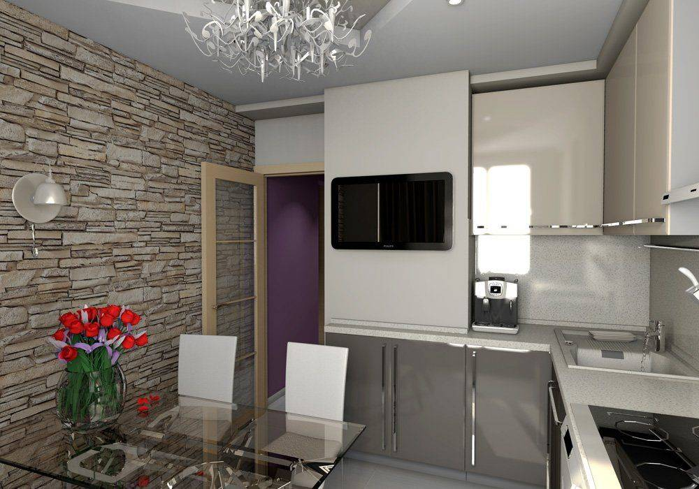 Маленькая кухня 4-5 кв. м. — 52 фото креативных способов увеличить пространство