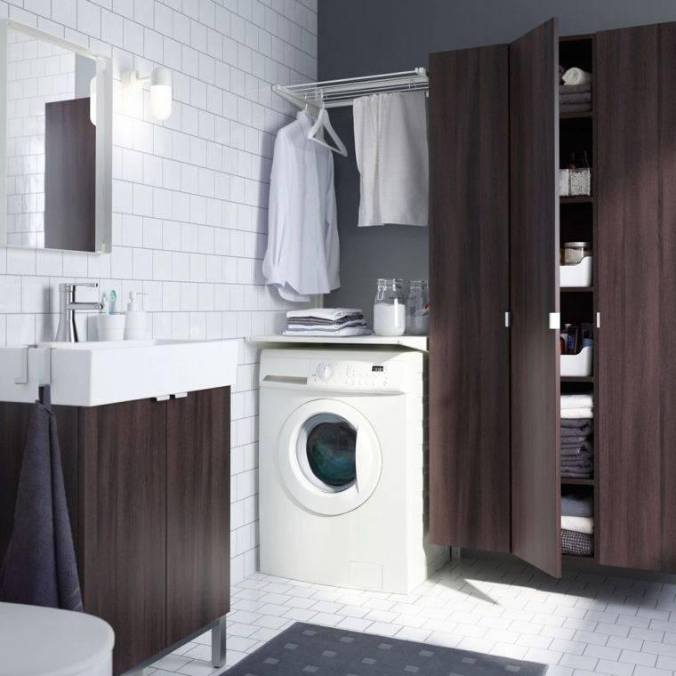 Шкаф для стиральной машины, существующие варианты и важные советы