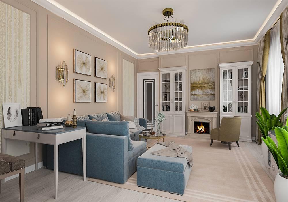 Дизайн интерьера квартиры в стиле неоклассика: реальные фото и примеры